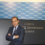 Fidel Fuentes jefe de urgencias de las clíncias IMQ Zorrotzaure y Virgen Blanca