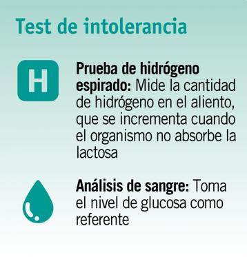 intolerancia a la lactosa test