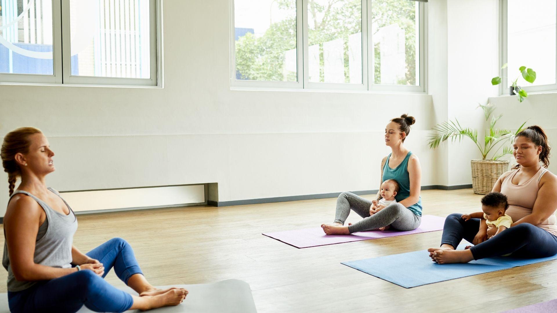 Beneficios del Yoga en el postparto