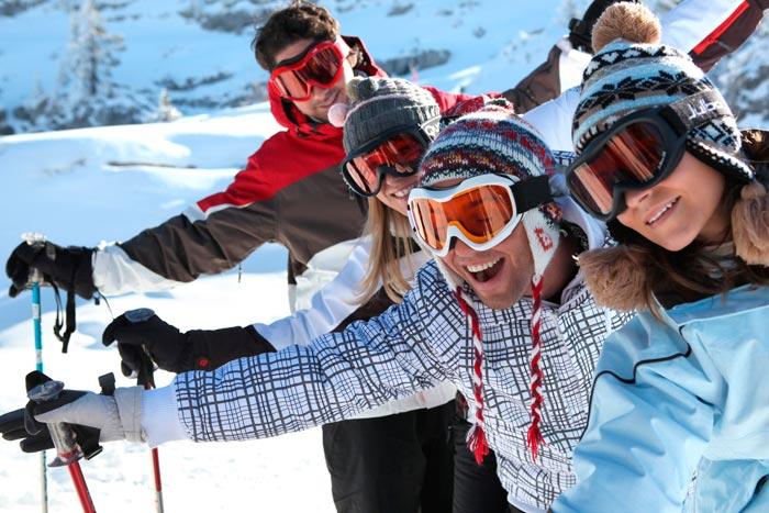 Las 5 mejores estaciones de esquí para principiantes