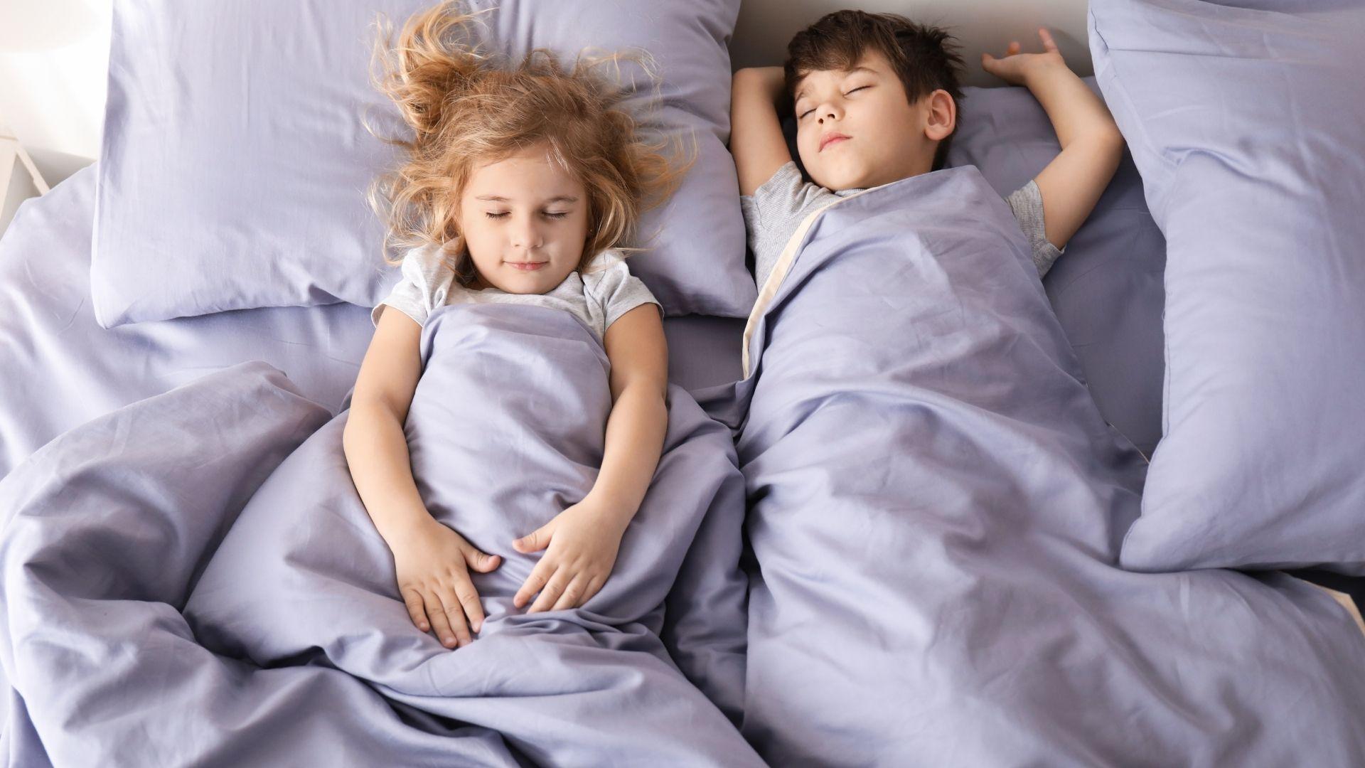 Las siesta en niños: ¿por qué la dejan?