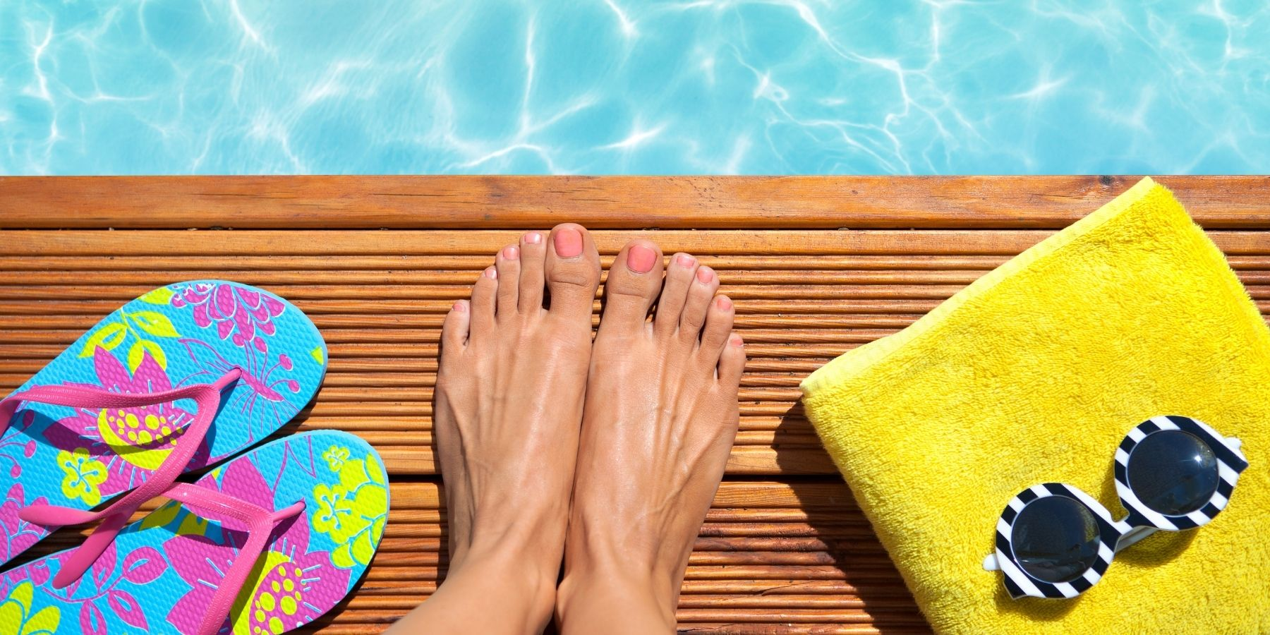 Cuidar los pies en verano