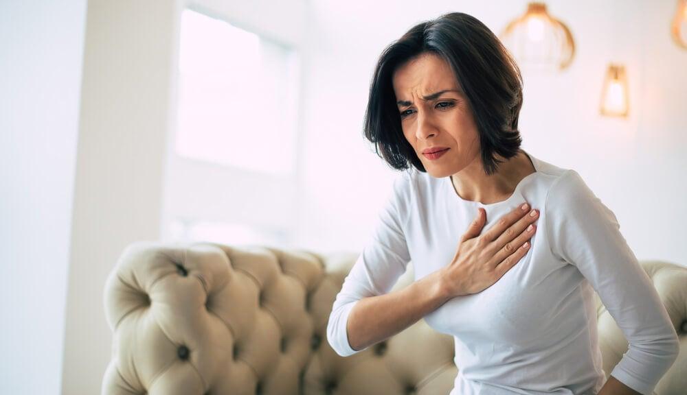 Síntomas de infarto en mujeres